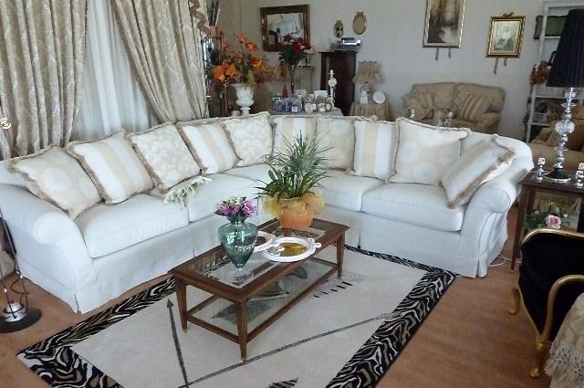 Divani tessuto sfoderabili idee per il design della casa - Copridivano chaise longue bassetti ...